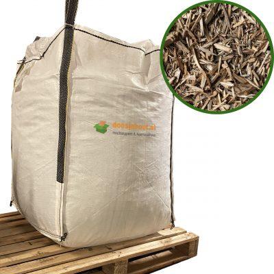 Houtchips geleverd in een Big Bag